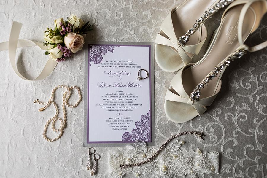 wedding invitation and details by ashley gerrity photography