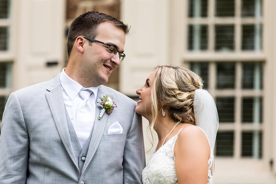 philadelphia wedding couple at historic anthony wayne house by ashley gerrity photography