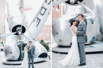 angela gaspar photography, pafa wedding, plane, philadelphia wedding photographers