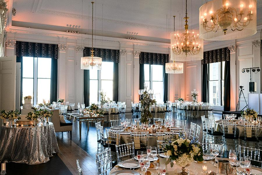 the downtown club dining room by daniel moyer photography