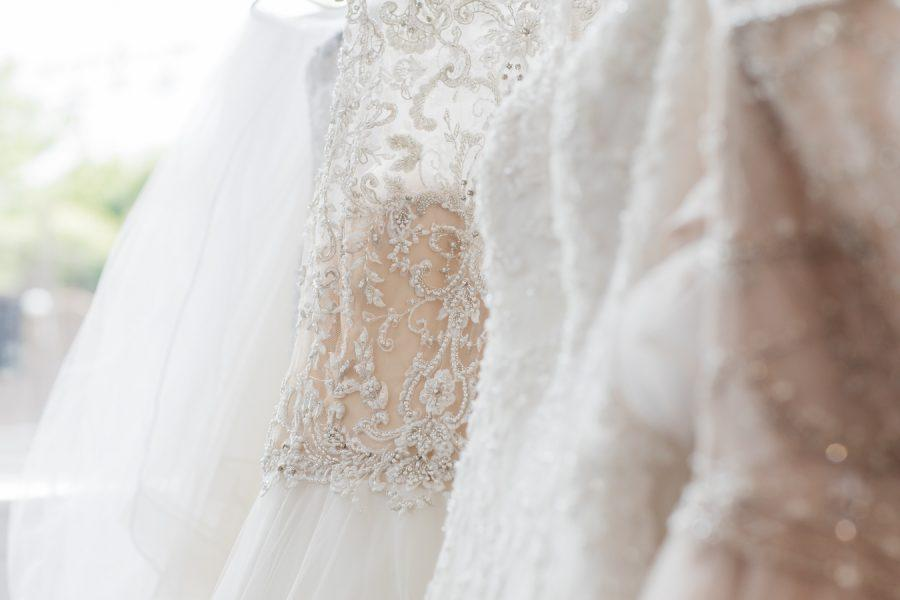 lace wedding dresses styled by Dolly Marshall