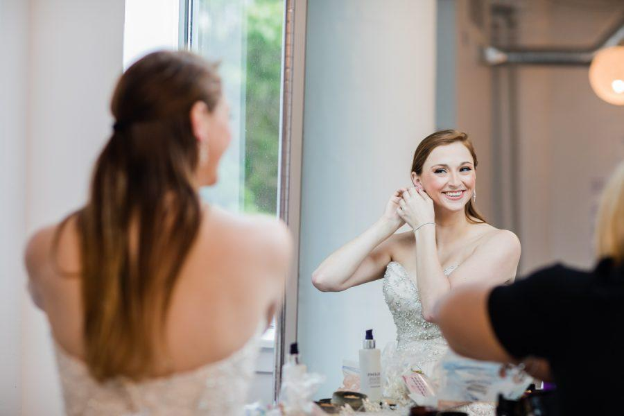 bridal makeup by Dolly Marshall