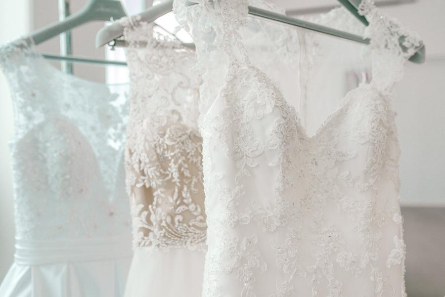 wedding dresses styled by Dolly Marshall