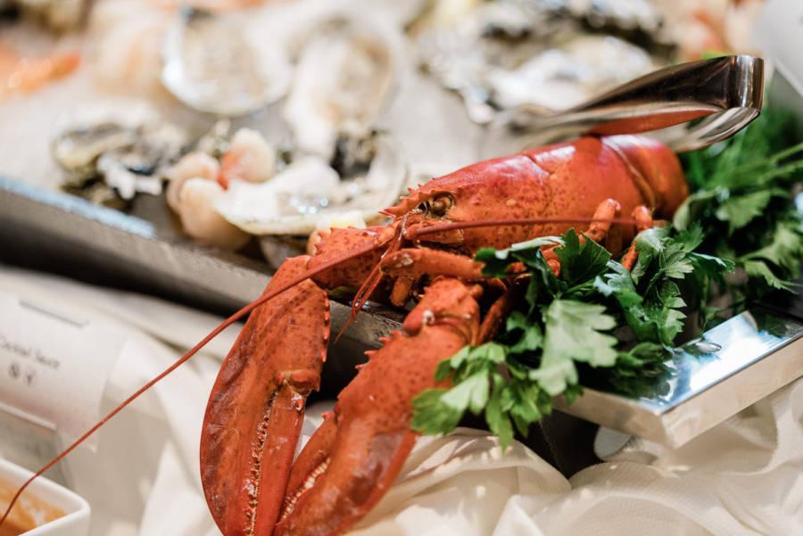 lobster at wedding