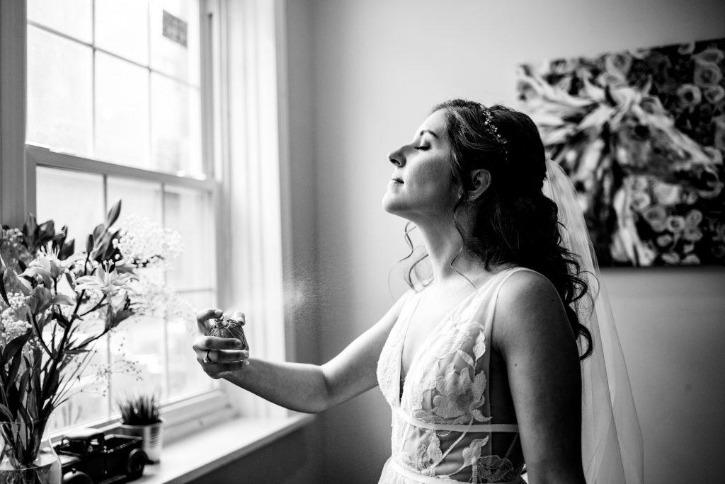bride and perfume, nicole cordisco photography