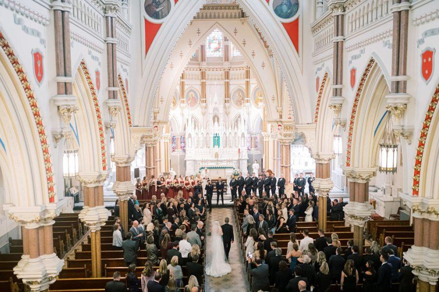 cathedral church wedding ceremony