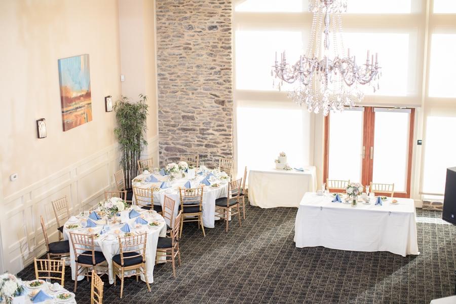 country club wedding reception