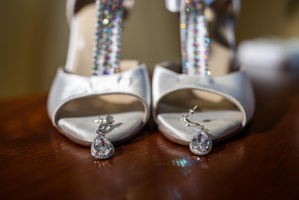 shoes, penn oaks country club wedding