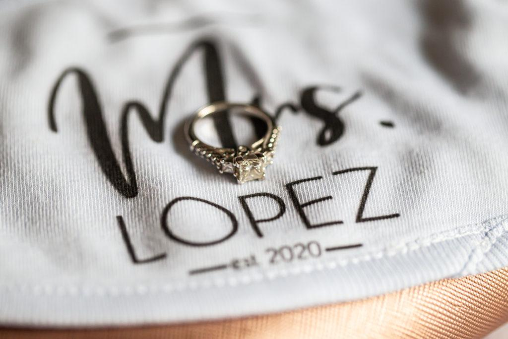 rings, penn oaks country club wedding
