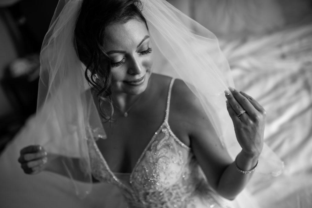 bride, penn oaks country club wedding