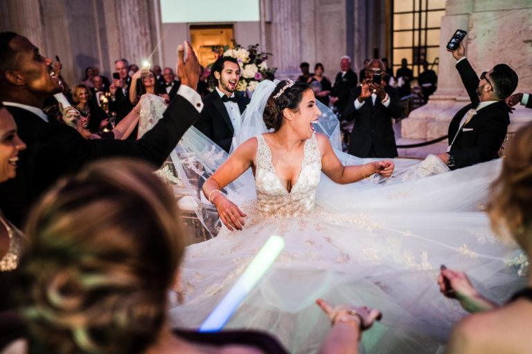 franklin institue wedding