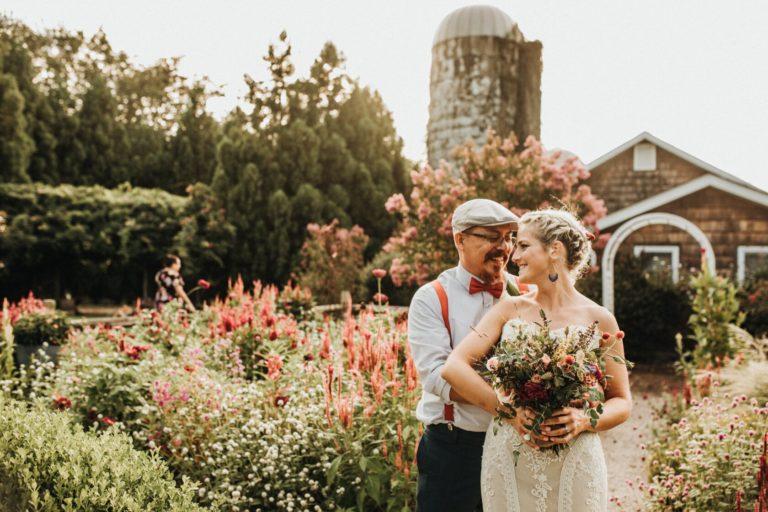 lavender fields at warrington manor wedding