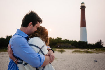 Proposal at Barnegat Light House