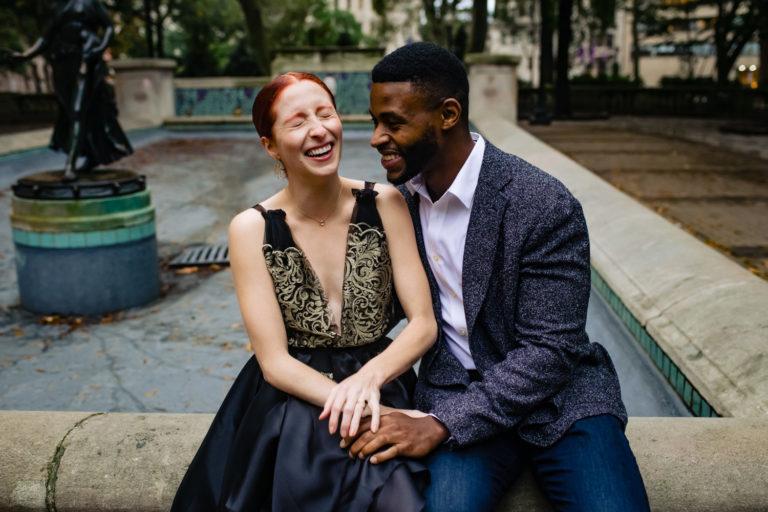 Rittenhouse engagement session