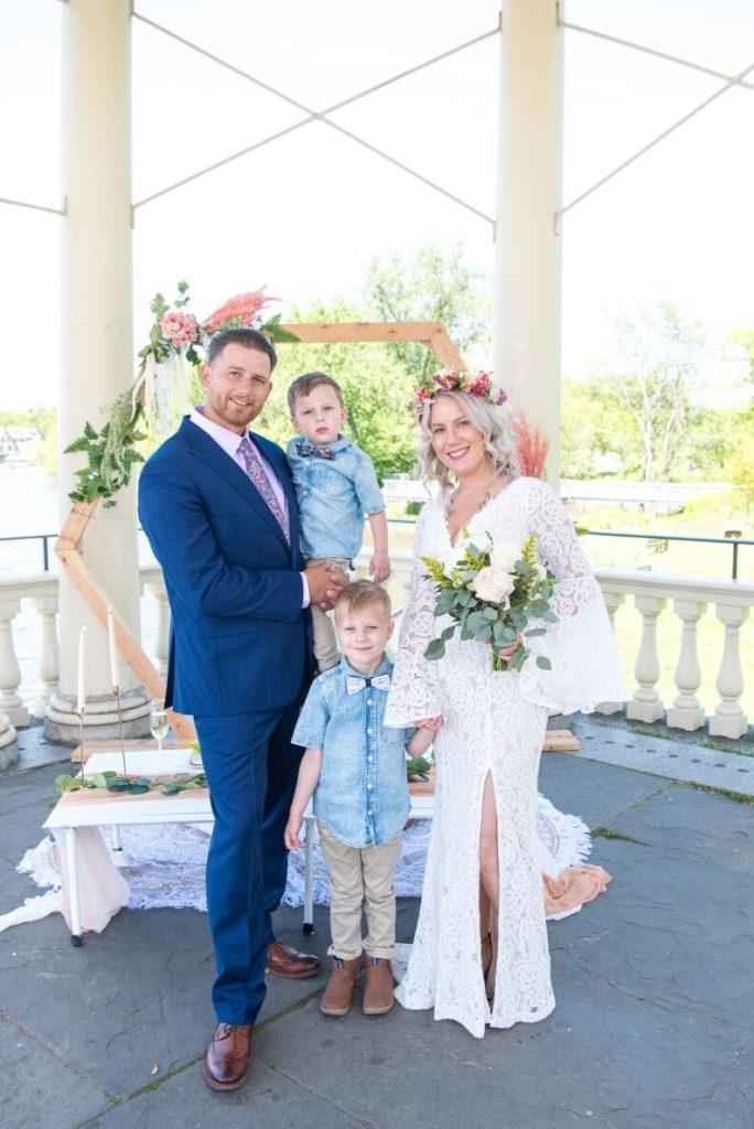 waterworks gazebo wedding