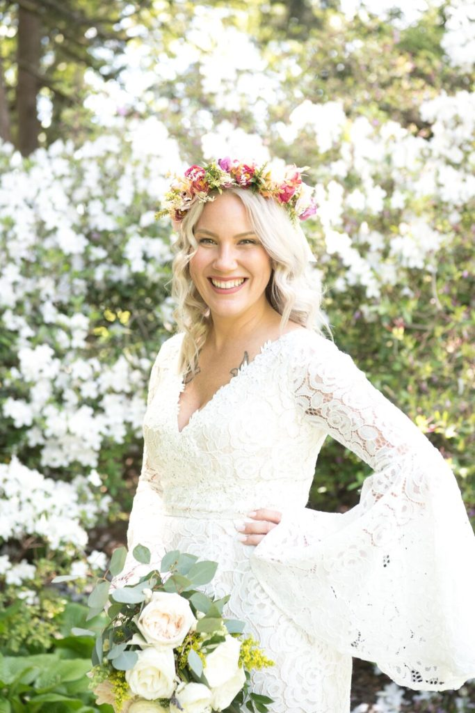 Azalea Gardens wedding photo