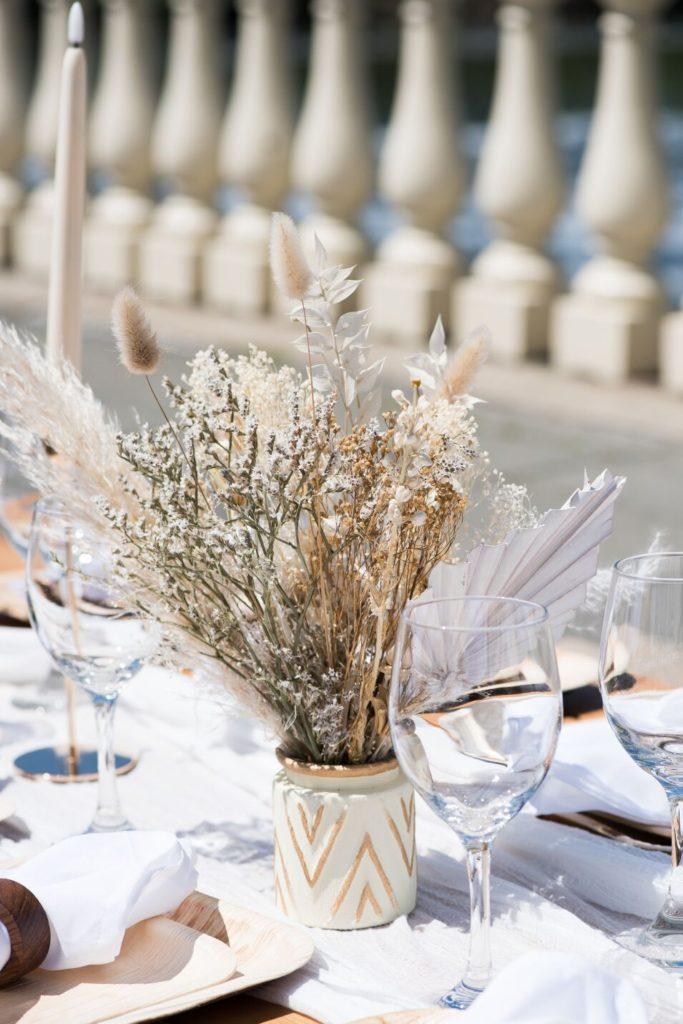 waterworks gazebo wedding table
