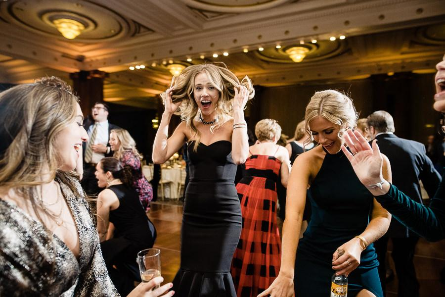 guests dance and have fun on dance floor