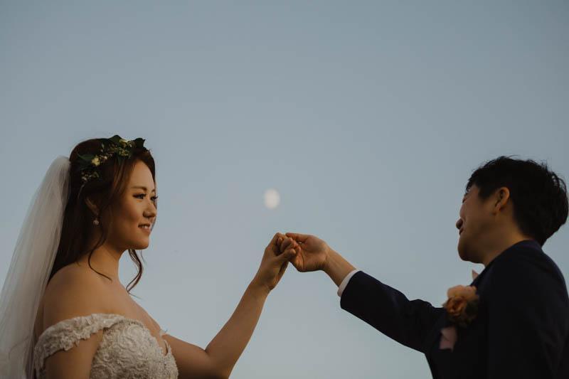 Philadelphia wedding photographers, Brandi Brooks Photography, bride and groom hold hands