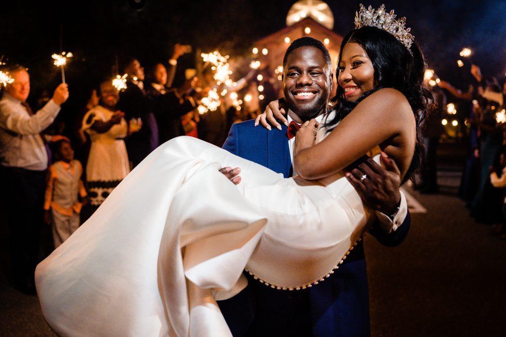 Philadelphia wedding photographers, jj studios photography, bride and groom sparkler exit