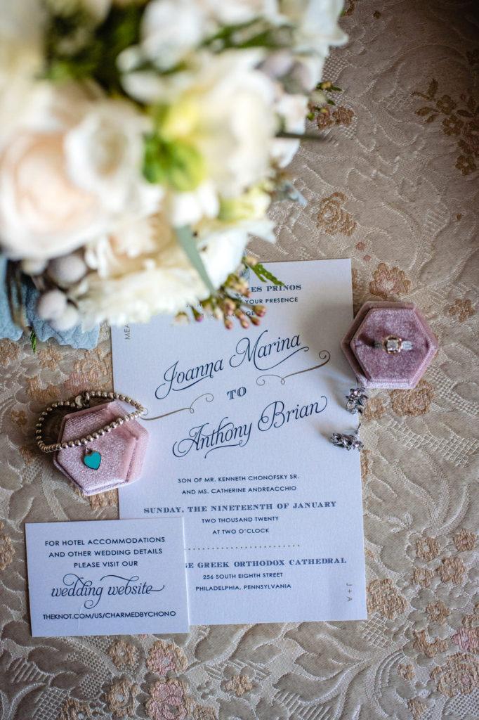 stationery, crystal tea room wedding nicole cordisco photography